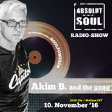 Absolut Soul Show /// 10.11.16 on SOULPOWERfm