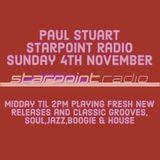 Paul Stuart Starpoint Radio - Sunday 4th November 2018