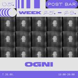 Post Bar Week - oгни (live)