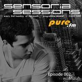 Sensoria Sessions 002 - Mizuh [June.09.2015] on Pure.FM