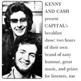 Kenny & Cash on Capital Radio with guests Paul & Linda McCartney (1973)