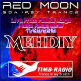 MEHDIY LIVE FROM FIASKA STAGE RED MOON-17-08-18