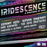 DAN ASCHERL LIVE @ IRIDESCENCE (A spectrum of rave) - 08/10/2016