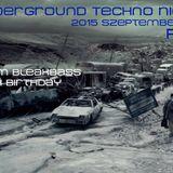 Underground Techno Night at R33 2015-09-19