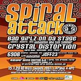 Crystal Distortion - Live @ Spiral Attack 2010 part1