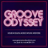 Groove Odyssey Radio Show performed by The Soulfingers - 04.10.18