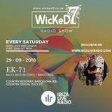 EK-71 aka EDDY KRUGER - WICKED 7 RADIO SHOW ON IBIZA LIVE RADIO 29 - 09 - 2018