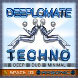 ► DEEPLOMATE TECHNO | space 01 | mix by ARSONIC