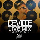 Deville February 2017 LIVE Open Format Mix