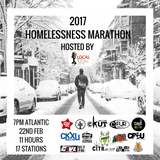 CHUO's contribution to the 2017 Homelessness Marathon