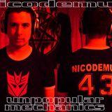 UNPOPULAR MECHANICS dj mix - Nicodemus the evilrobo