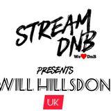 Stream DnB presents: Will Hillsdon (UK)
