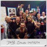 DHB Studio - Radio PLka - Jarek Ka, Ela H & Damage in the mix 04/05/14