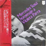 Mercedes Sosa: Homenaje a Violeta Parra. SFX-5119. Philips. 1974. Japón.