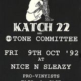 Two Tone Committe Live @ Nice & Sleazy On 9th Oct 1992