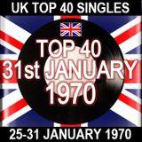 UK TOP 40: 25-31 JANUARY 1970