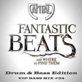CAPITAL J - FANTASTIC BEATS (And where to find them) [VIP DRUM & BASS MIX SESSION #34]