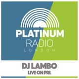 Lambo - Pop Up Show / Tuesday 20th September 2016 @ 5pm - Recorded Live on PRLlive.com