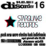disorder 16 - starquake records