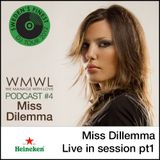 Miss Dilemma - Live in techno session (WMWL tour 2012 mix)