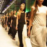 Mix  by Dima HARDTENNIS for SS2011 Lilia Poustovit Fashion Show