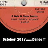 A Night of Classic Grooves Oct 2017 Dance!!