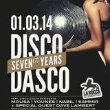 Disco Dasco 7 years @ La Rocca 01-03-2014