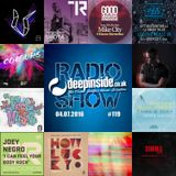 DEEPINSIDE RADIO SHOW 119 (Dennis Quin Artist of the week)