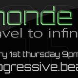 monde6 travel to infinity at progressive beats web radio