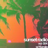 Sunset Radio Vol. 004 w/ Konglo