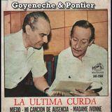 Roberto Goyeneche & Armando Pontier - LP La última curda