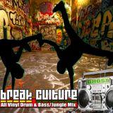 """""""Breakulture""""  ALL VINYL Drum n Bass & Jungle Promo Mix"""
