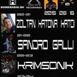 Luminar Records Exclusive Resident Radio Show w/Sandro Galli Live@Homeradio,Budapest 16 June 2015