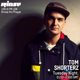 Tom Shorterz - LIVE - Rinse FM - First show of 2015