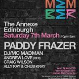 Paddy Frazer - Remember The Annexe Edinburgh March 2015