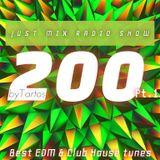 Tartos - JustMix Radioshow 200 (Pt.1)
