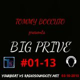 BIG PRIVE' #01-13 DJ SET TOMMY BOCCUTO