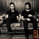 Bedouin -  Deep House Moscow - Podcast 215 - 19-04-2017