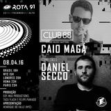 Rota 91 - 08/04/2017 - Caio Maga e Daniel Secco