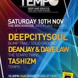 The Tempo Sessions on SS radio mixed by The Tempo Twins (15/11/12)
