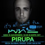 Pirupa - Live @ It's All About the Music, Ibiza Global Radio (Ibiza, ES) - 15.11.2017
