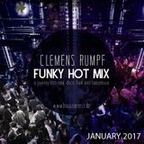 CLEMENS RUMPF - FUNKY HOT MIX JANUARY 2017 (www.housearrest.de)