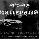 Infernal Obliteration Episode 76 - 6.Nov.2014 @ Core of Destruction Radio