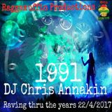 """RaggaMuffin Productions presents """"A Rave Thru the Years"""" 1991 mixed by Chris Annakin 22.04.2017"""