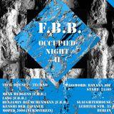 DJ Kenshi Der Japaner - FBB Occupied Night II von 4 - 5.30 Uhr