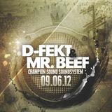 D-Fekt & Mr.Beef - Resistant Mindz at Champion Sound