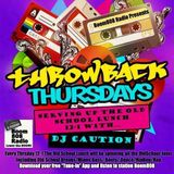 DJCAUTION LIVE BOOM808RADIO THROW BACK THURSDAY MIX