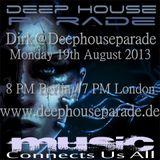 Dirk@Deephouseparade (19th August 2013 on www.deephouseparade.de)