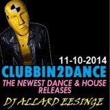 Allard Eesinge - Clubbin2Dance (11-10-2014)