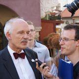 Rentgen Polityczny, 13.06: JANUSZ KORWIN-MIKKER (KNP), ZBIGNIEW ZIOBRO (SP)- fragm. audycji